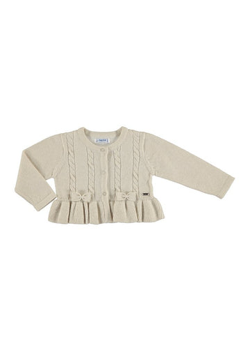 sand knitted cardigan Cardigan Mayoral