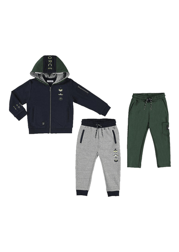 tracksuit with sweatshirt and two pants Set Mayoral