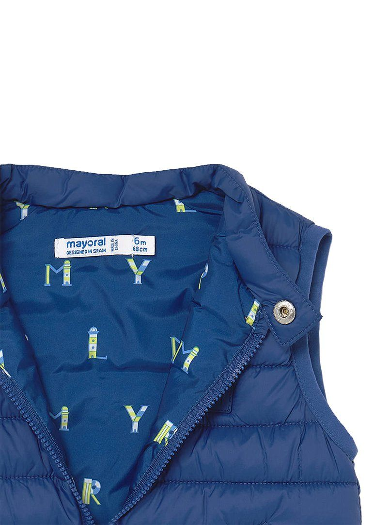 Padded Vest - Blue Outerwear Mayoral