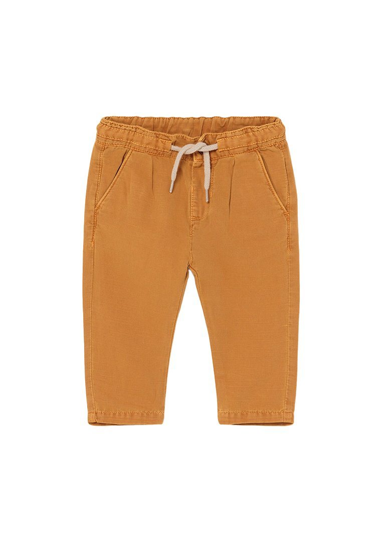Linen Pull On Pants - Rust Pant Mayoral
