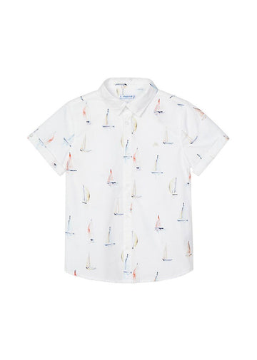 Short Sleeve Shirt - Sailboat Top Mayoral