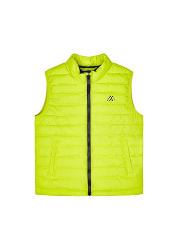 Puffy Vest - Neon Yellow Outerwear Mayoral
