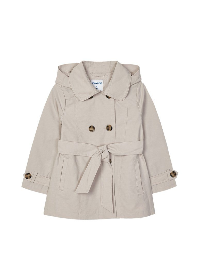Belted Trench Coat Outerwear Mayoral