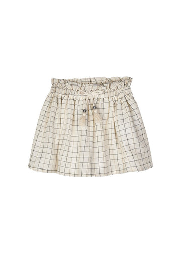 Tassel Skirt - Plaid Skirt Mayoral