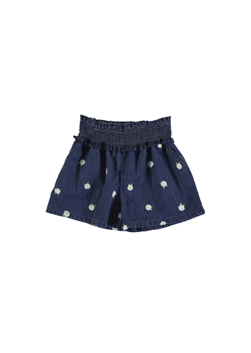flower denim shorts Bottom mayoral