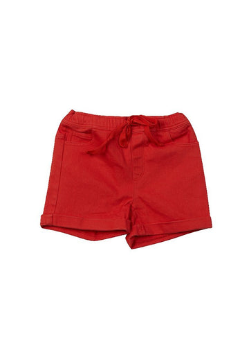 Sawyer Short - Red Shorts Giggle