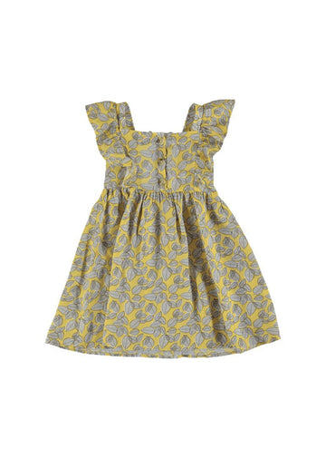 Printed Dress -Yellow Dress Mayoral