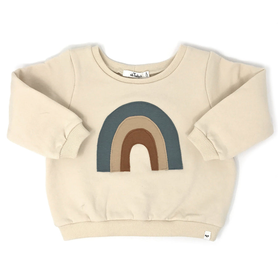 Rainbow Brooklyn Boxy Sweatshirt Sweater oh baby!