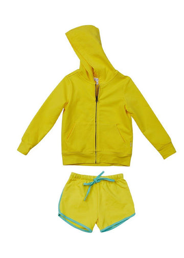 Emerson Short Set - Yellow Set Giggle