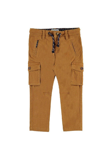 caramel chino cargo pants Bottom Mayoral