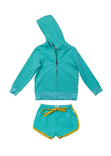 Emerson Short Set - Teal Set Giggle