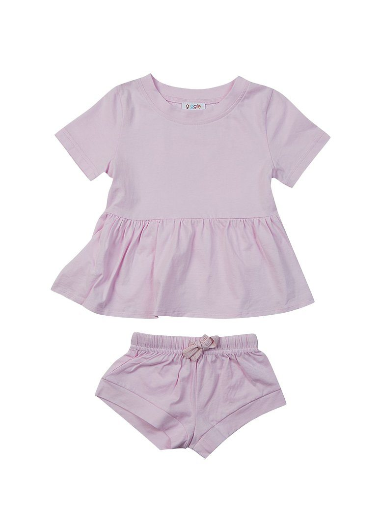 Ellie Cotton Set - Pink Set Giggle