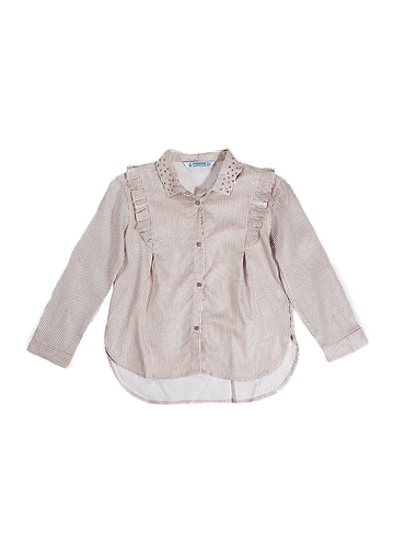 crystal striped blouse Top Mayoral