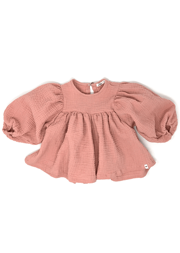 Raphael Double Gauze Blouse - Blush Top oh baby!