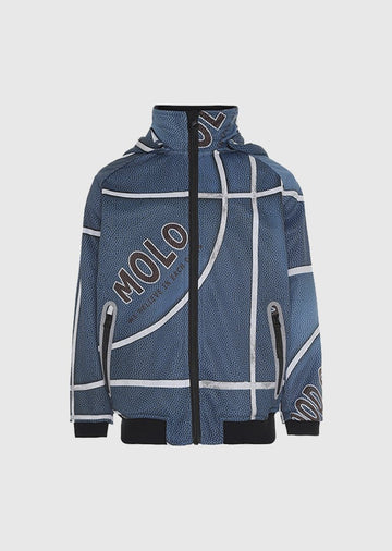 Blue Basket Soft Shell Jacket Outerwear Molo