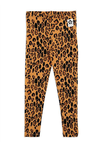 Leopard Leggings Pants Mini Rodini