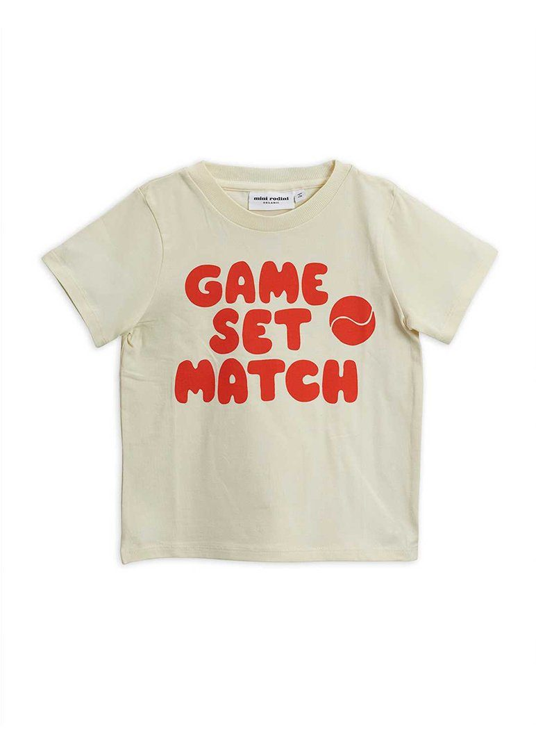 Game Set Match Tee Top Mini Rodini