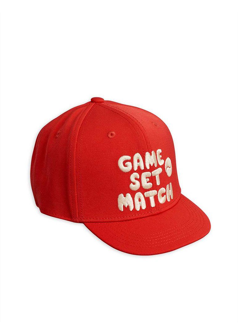 Game Set Match Cap Accessory Mini Rodini