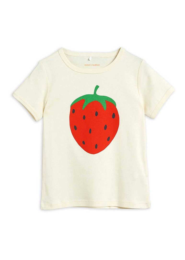 Strawberry Short Sleeve Tee Top Mini Rodini