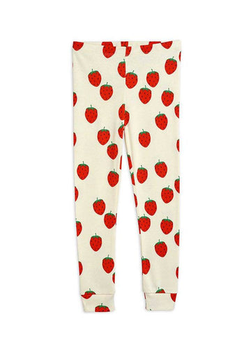 Strawberry Leggings Pants Mini Rodini