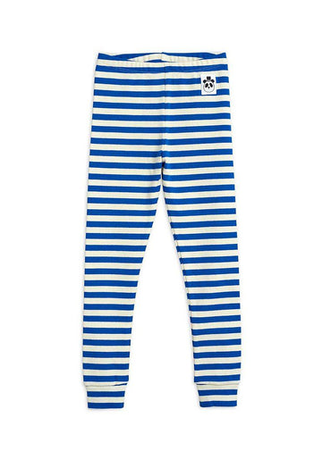 Stripe Rib Leggings Pants Mini Rodini