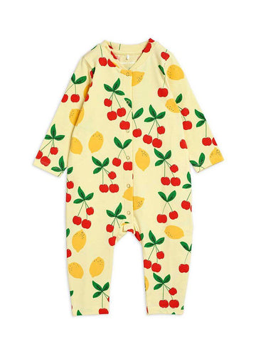 Cherry Lemonade Jumpsuit onesie Mini Rodini