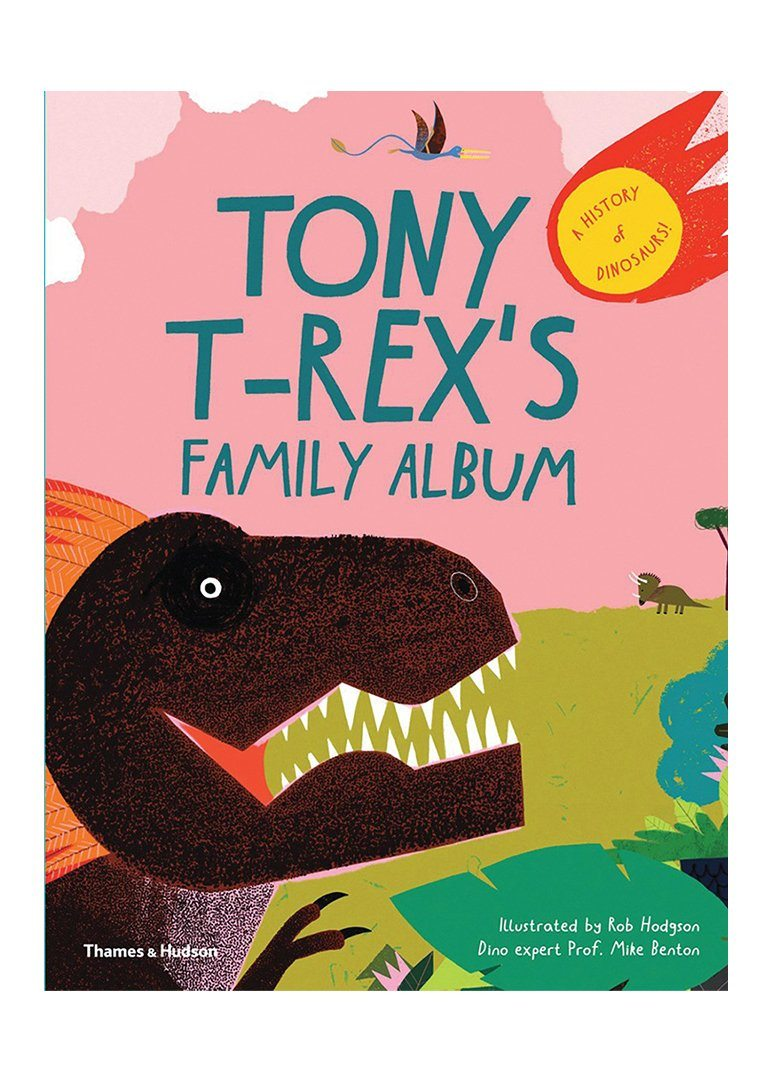 Tony T-Rex's Family Album Books W.W. Norton