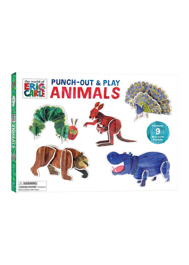 Punch Out and Play Animals Toy chronicle books