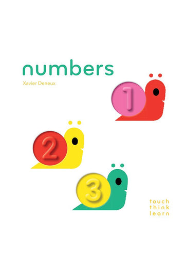 TouchThinkLearn: Numbers Book Chronicle Books