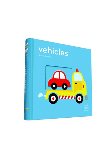 TouchThinkLearn: Vehicles Books Chronicle Books