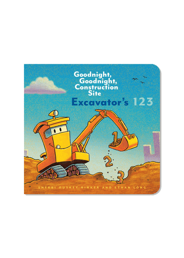 Excavator's 123 Board Book Books Chronicle Books
