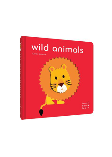 TouchThinkLearn: Wild Animals Books Chronicle Books