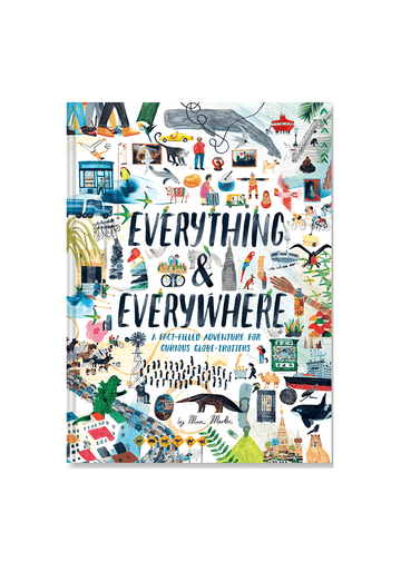 Everything & Everywhere Book Chronicle Books