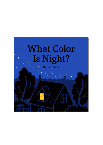 What Color Is Night? Book Chronicle Books