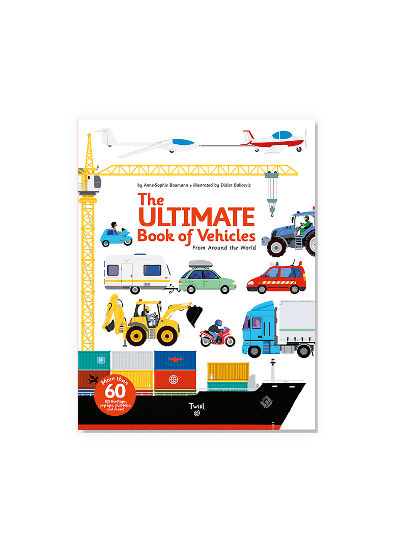 The Ultimate Book of Vehicles Book Chronicle Books