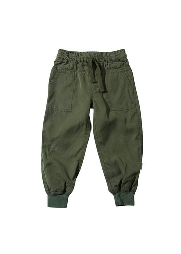 Asher Jogger Pant - Olive Bottom Giggle