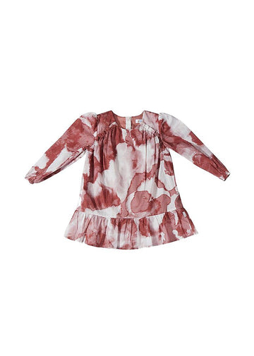 Pink Tie Dye Dress Dress Giggle