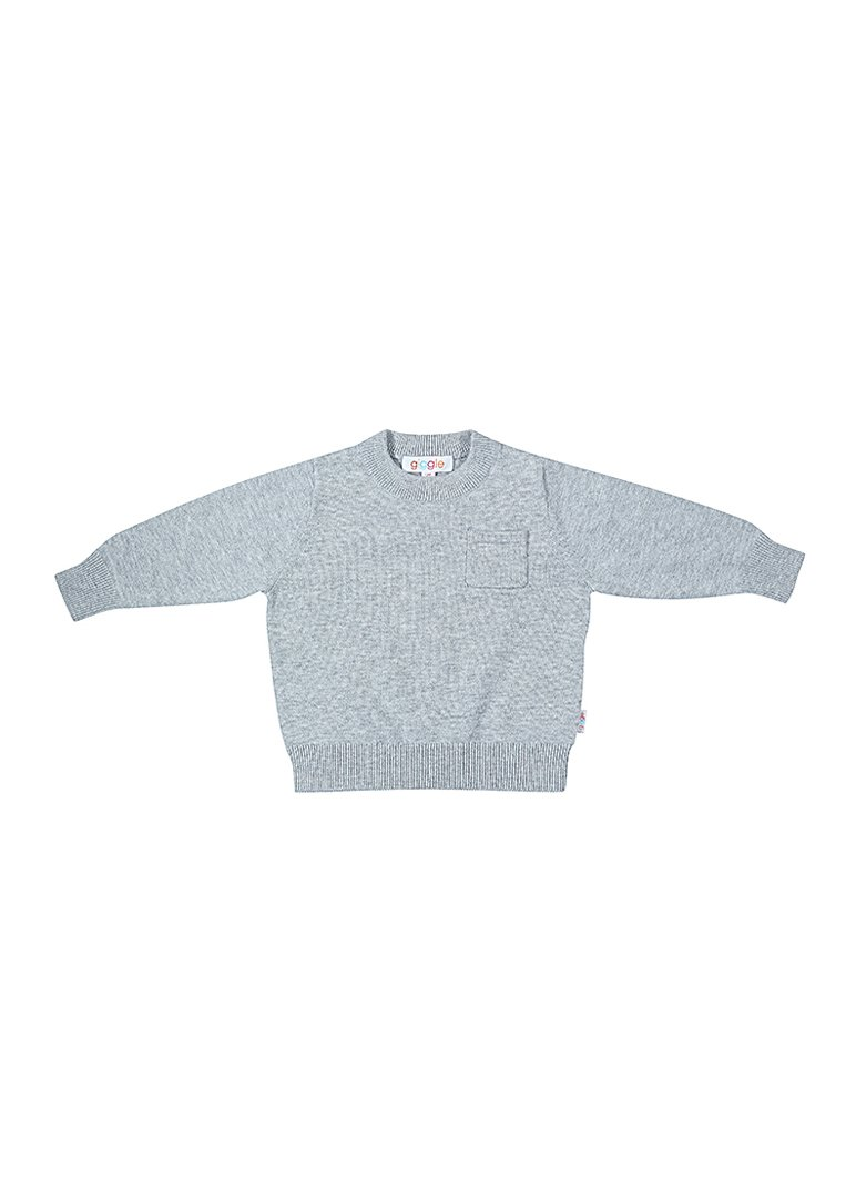 Billie Play Set Top - Grey Top Giggle