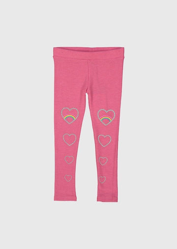 glitter hearts legging Bottom Chaser
