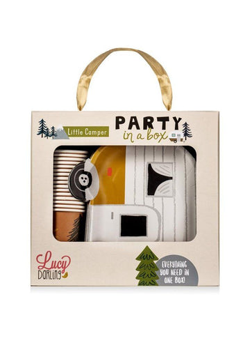Little Camper Party in a Box Decor Lucy Darling