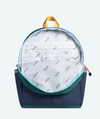 Kane Green and Navy Backpack Kids Bag State Bags
