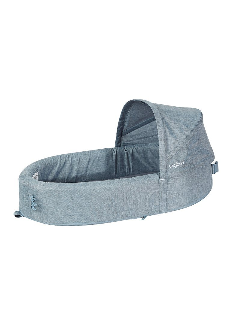 Bassinet To Go - Denim Gear Lulyboo