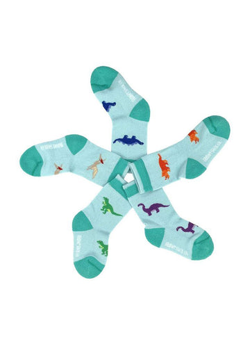 Dinosaur Baby Sock Set Accessory Friday Sock Co.