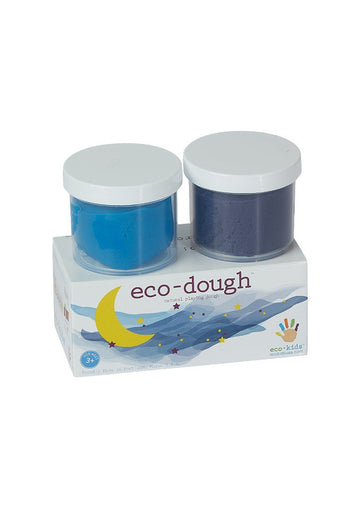 Eco-Dough 2 pack Assorted - Blue Multi Toy eco-kids