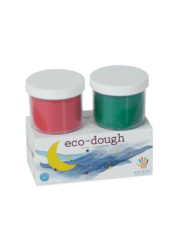 Eco-Dough 2 pack Assorted - Green Multi Toy eco-kids