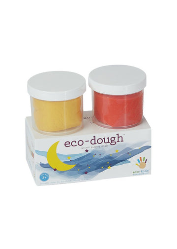 Eco-Dough 2 pack Assorted - Yellow Multi Toy eco-kids
