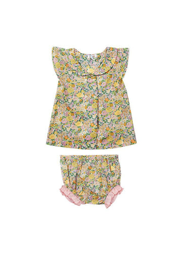 Eden Liberty Print Set - Yellow Floral Set Giggle