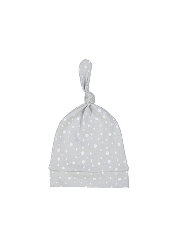 grey dot tossie hat Hat Giggle