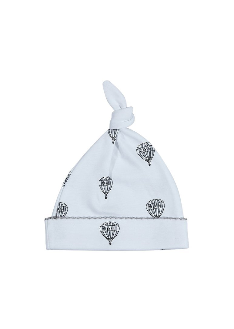 Grey Hot Air Balloon Tossie Hat Hat Giggle