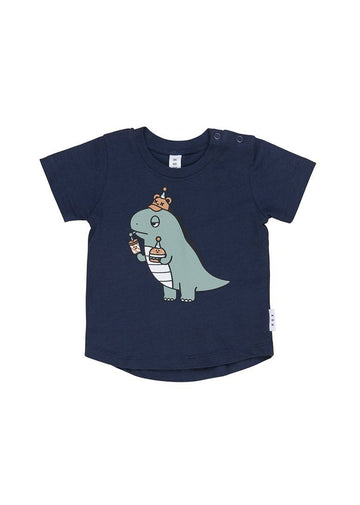 Dino T-shirt Top Huxbaby